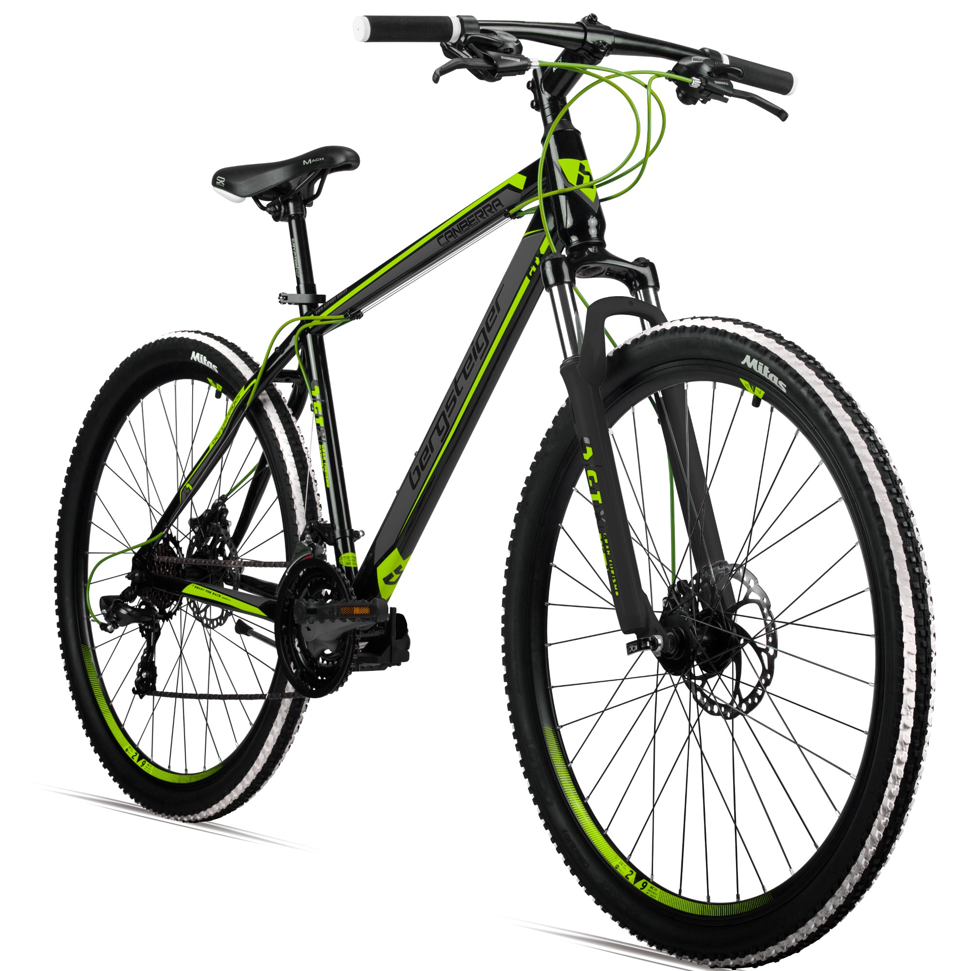 26 mountainbike canberra bergsteiger fahrr der mountainbikes citybikes kinderfahrr der. Black Bedroom Furniture Sets. Home Design Ideas