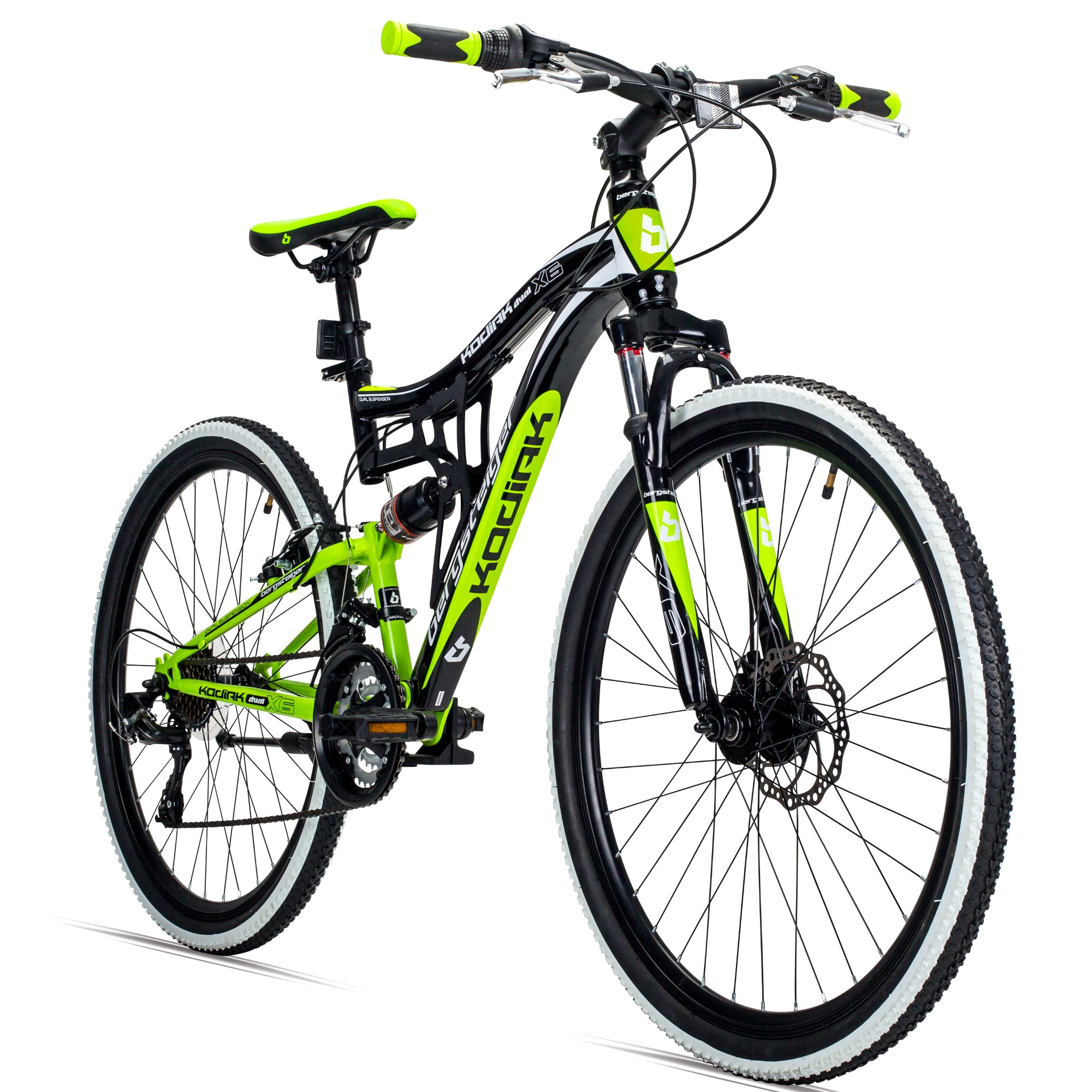 26 mountainbike kodiak bergsteiger fahrr der mountainbikes citybikes kinderfahrr der bmx. Black Bedroom Furniture Sets. Home Design Ideas
